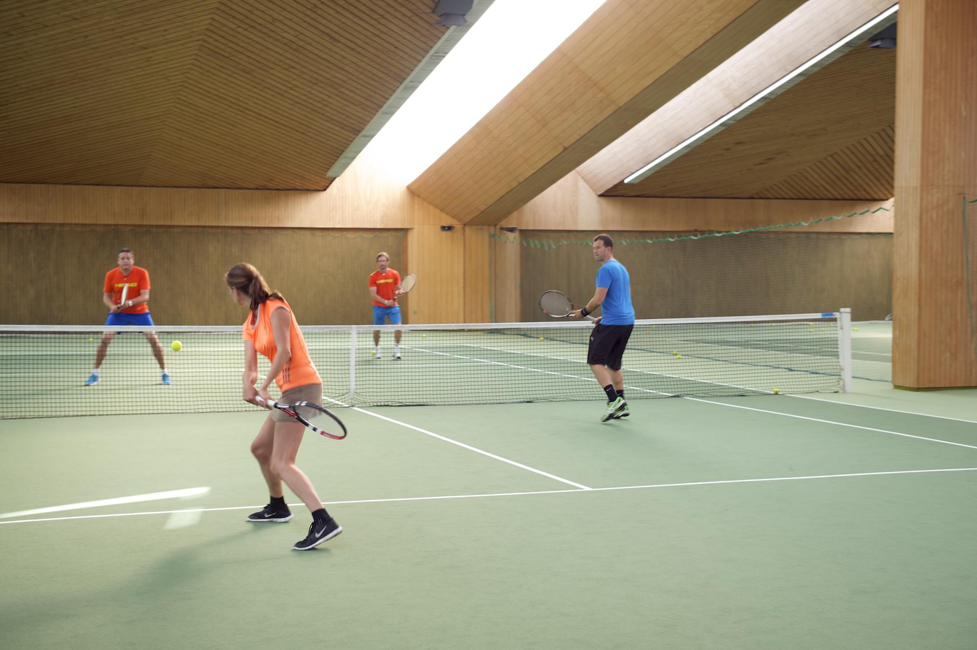 Tennishalle krone original 214826