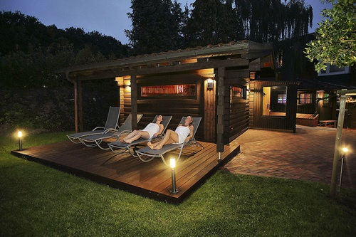 Saunagarten koehlers forsthaus original 401331
