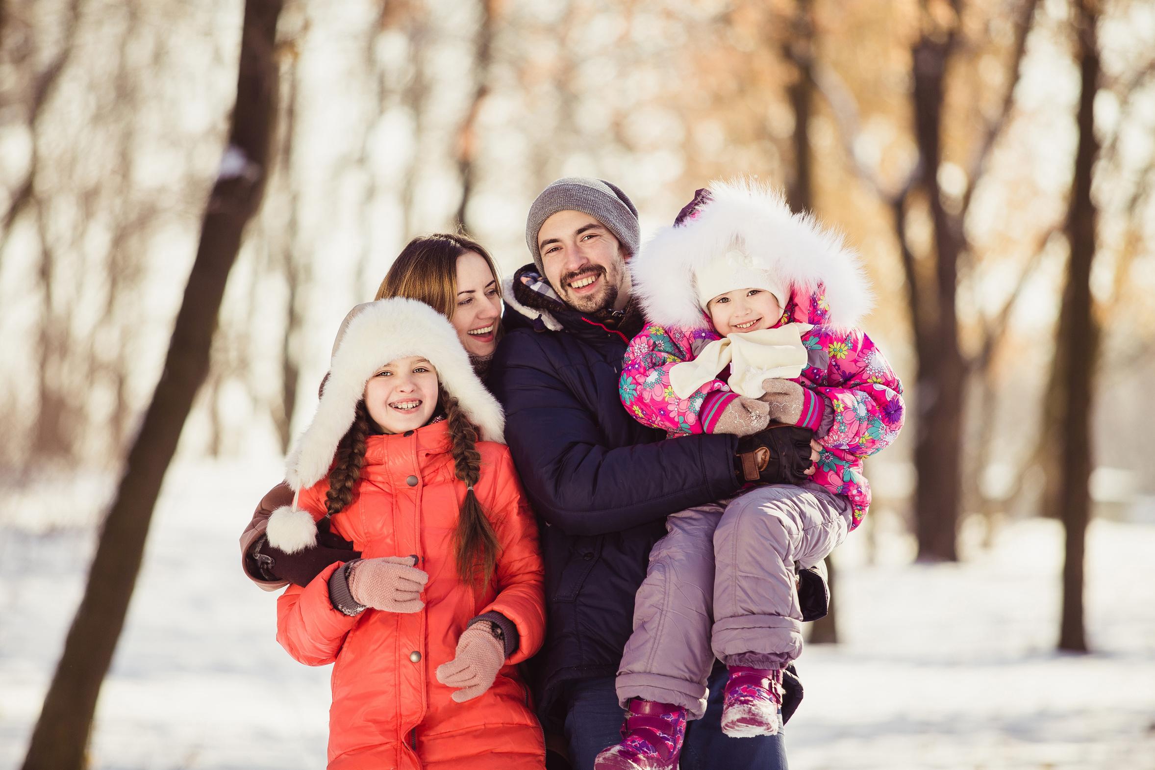Familie winter original 294561
