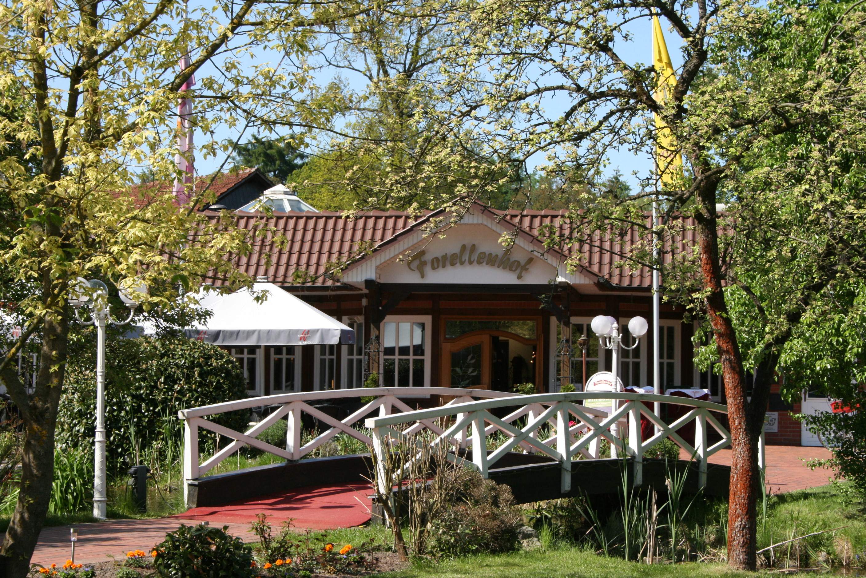 Teich bruecke forellenhof original 226907